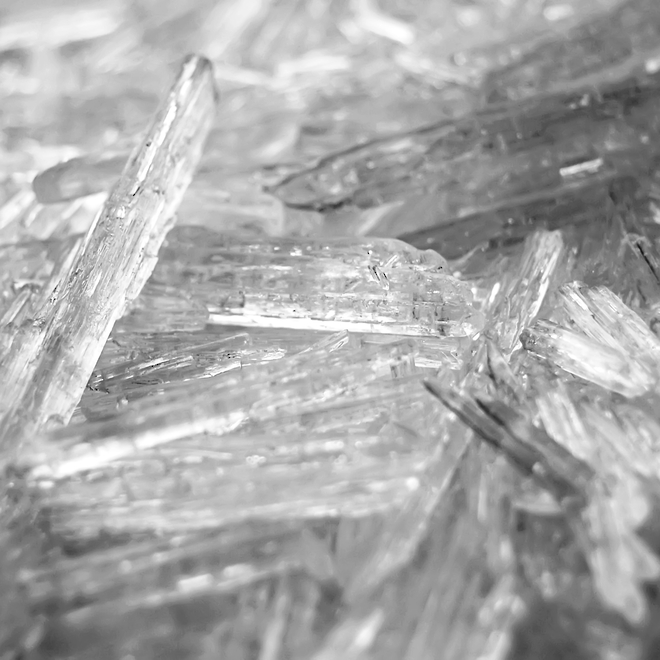 Menthol crystals, certified organic image 0