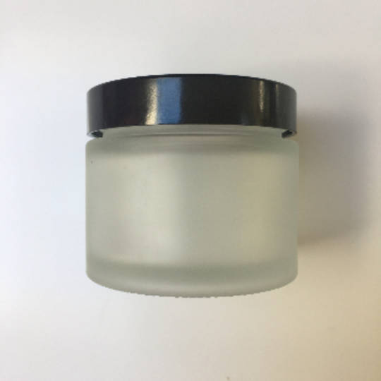 Frosted glass pot: 50ml