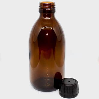 Amber glass bottle: 250ml