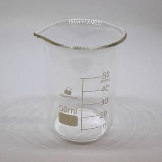 Glass beaker 50ml