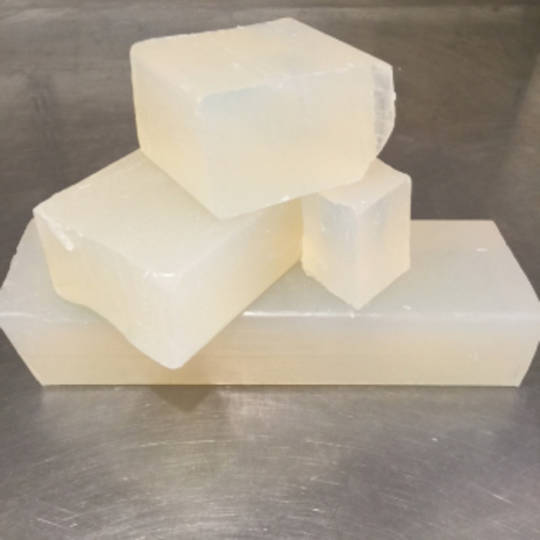 Clear organic melt and pour soap base