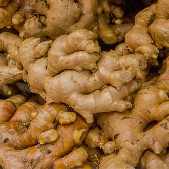 Ginger essential oil, certified organic