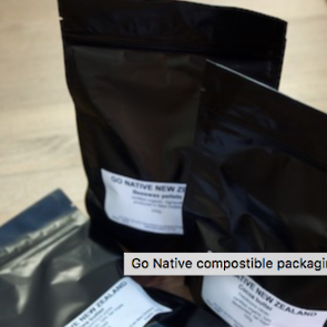 Compostable bags, 250g