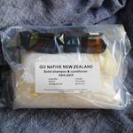 Solid shampoo & conditioner bars pack