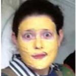 Enjoy gold face mask