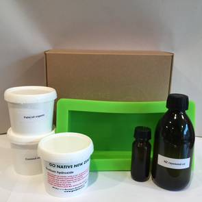 Basic cold-process soapmaking kit