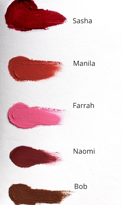 Lipstick pack colours web