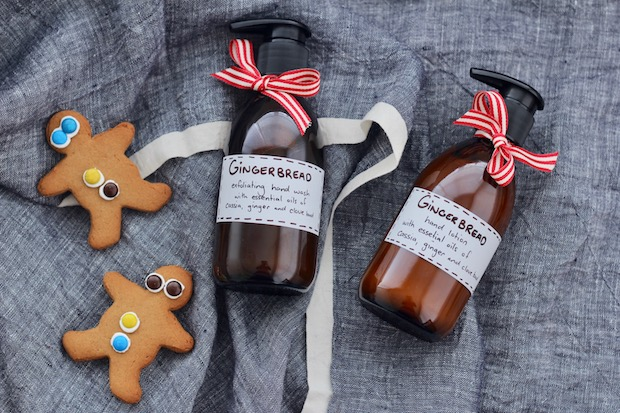 How to make gingerbread hand cream