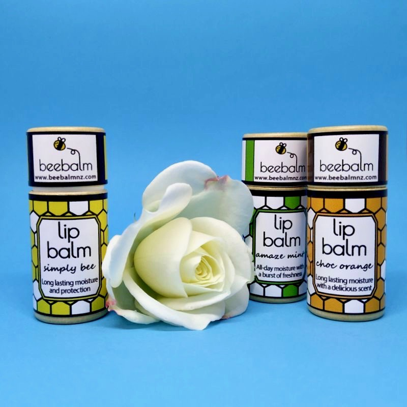 Bee Balm NZ lip balm