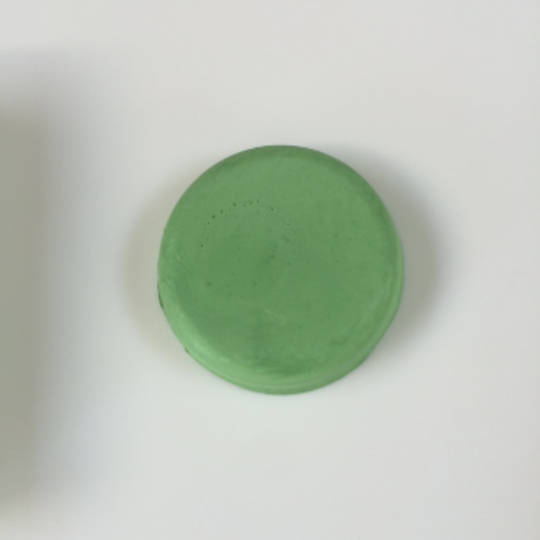 Green colour block for M&P soap