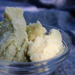 Shea butter, certified organic, fair trade, unrefined